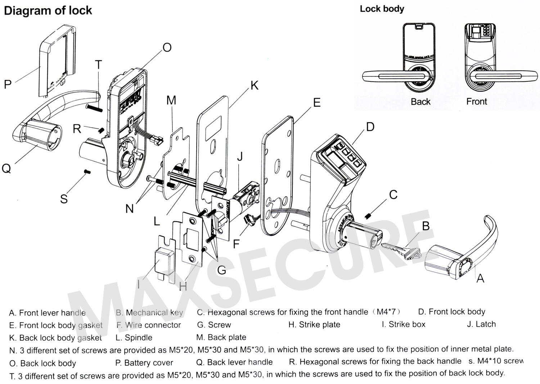 Door Lock Diagram  U0026 Truck Rear Door Locking Set Sc 1 St Diagram